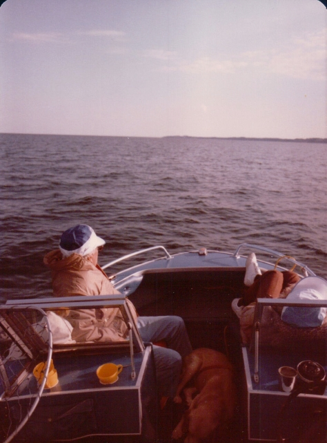 My father only came to visit Michigan once before he died - but then out on the 'big lake' he thought he already had and this was Heaven ....